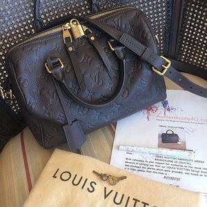 Louis Vuitton Speedy25 empreinte 100%Genuine
